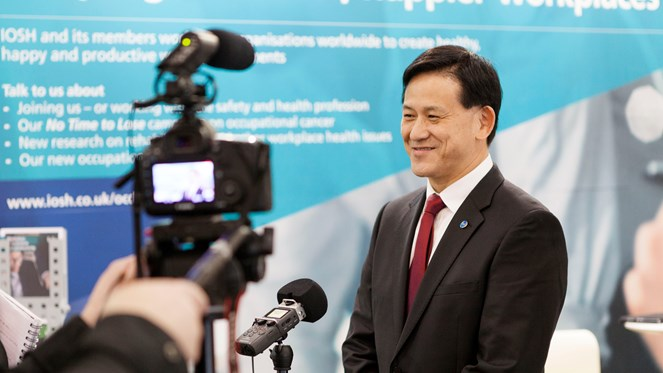 Vincent HO being filmed at ICOH 2018.jpg